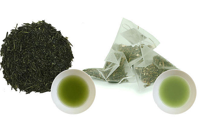 Organic Gyokuro Premium - Loose Leaf - 500g + Kagoshima Sencha Green Tea Bags - Hot or Cold Brewing - 200 teabags (Regular Price US$190)
