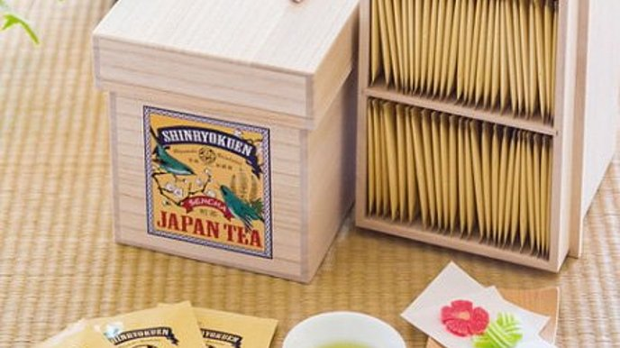 Soratobu Tea (100 Tea Bags in Box): Fresh and Tasty Green Tea Bags