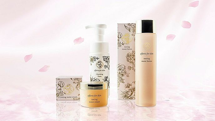 Winnow EFS Skin Care 3 Set Facial cleansing foam Toing moist Lotion and Cream